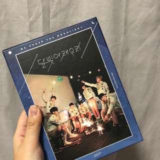 [wts] got7 3rd anniversary, we under the moonlight