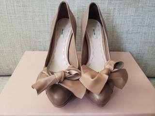 miu miu high heel