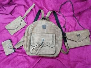 4in1 brown bag