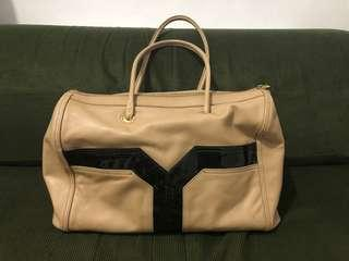 Authentic ysl leather shoulder bag repriced