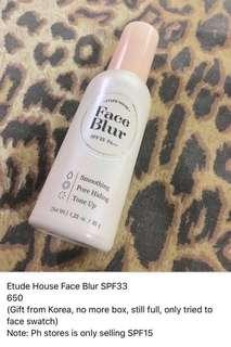 Etude House Face Blur SPF33