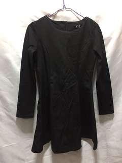 女裝黑色斯文裙