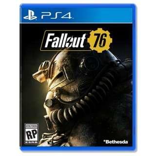 (極新下殺!!!) PS4 繁中 異塵餘生76 中文版 遊戲 Fallout 76