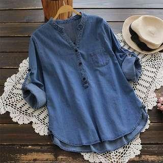 Denim top / blouse