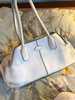 Authentic Tods white bag