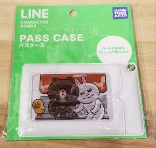 Line Friends Pass Case卡套(包本地平郵)