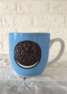 Wide-mouth Oreo mug