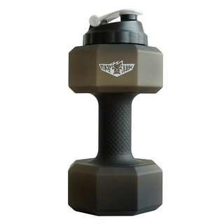 Gym water bottle / dumbbell water bottle