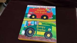 Story books with wheels