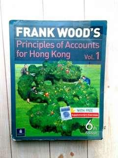 Frank Wood's Principles of Accounts for Hong Kong