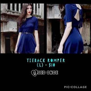 🚚 Tie-Back Romper