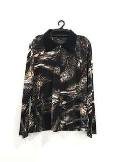 Cheetah Printed Outerwear