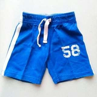 CARTER'S SHORTS SIZE 2T (BLUE)