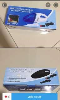 vacuum cleaner portable for car