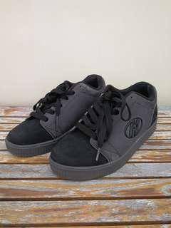 Authentic Grey Heelys/Skate Shoes