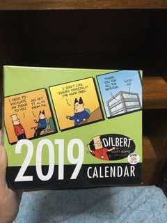 2019 Dilbert Daily Comics Calendar