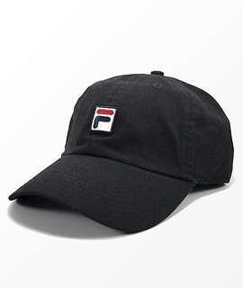🚚 Fila F-Box Logo Baseball cap Black