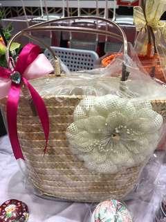 Xmas gift - Drawstring wickers bag LAST 2 !!!