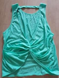 Cotton On Body Twisted Peppermint Bare Back Tank