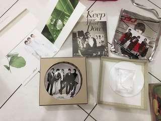 東方神起 JYJ 正版專輯 周邊商品