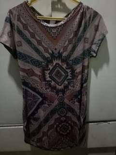 Stretchy Aztec Dress