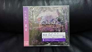 Glay 夏音CD Single 日本初回版 (全新未拆)