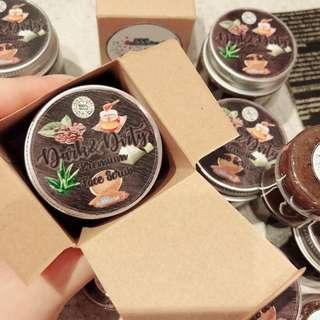 🚚 Homemade and Handmade Facial Scrub Coffee Brown Sugar Raw Honey Green Tea