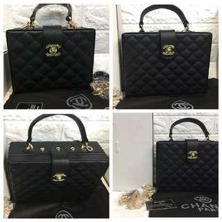 Sale Chanel Caviar Box Style Sling bag