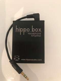 Hippo box headphone amplifier