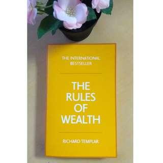 The Rules of Wealth: A Personal Code for Prosperity - Richard Templar (Non Fiction)