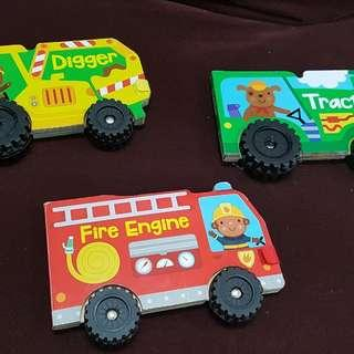 Story books with wheel