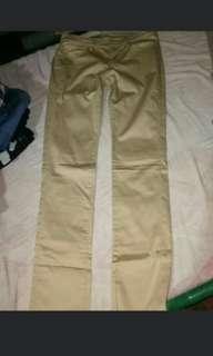 Uniqlo Khaki Smooth Pants Size 26