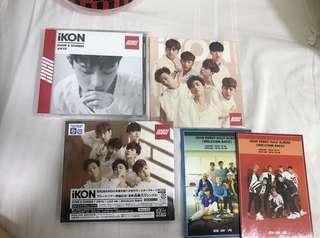 ikon rare japan albums