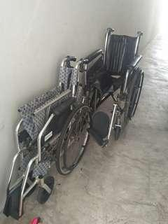 Letting go wheelchair for cheap price.