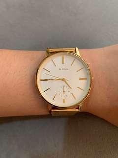 Parfois Gold strap watch