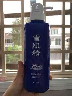 Authentic Kose Body Soap Sekkisei