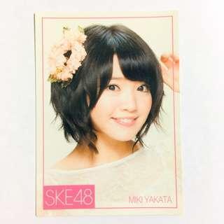 SKE48 矢方美紀 小卡 ske48 akb48