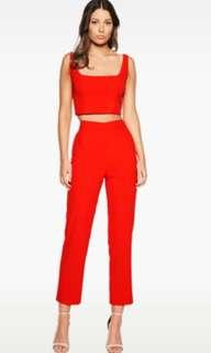 Bardot Red Set