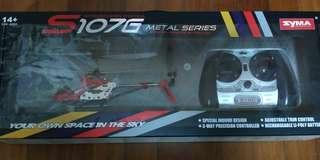 Brand New Helicopter (Red) with Remote Control