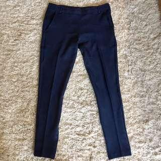 Stratto Navy Pants