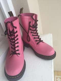 Pink Air Wair Dr Martens