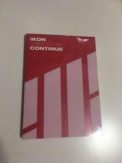 IKON CONTINUE ALBUM RED PC JINHWAN