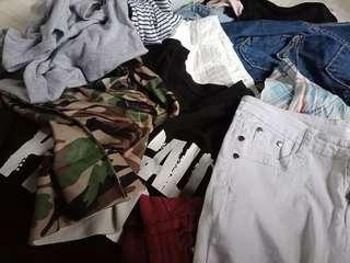 free clothes!!!(with purchases above $8)