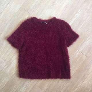 Zara Furry Top
