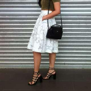 H&M Premium Embroidery Skirt