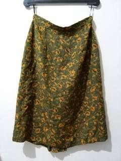 Green Vintage Skirt