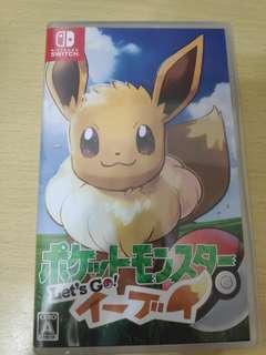 Pokemon let's go 伊布