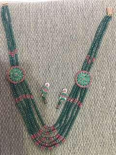 Art jewellery set