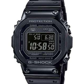 Casio G-Shock GMW-B5000GD-1 Black Metal