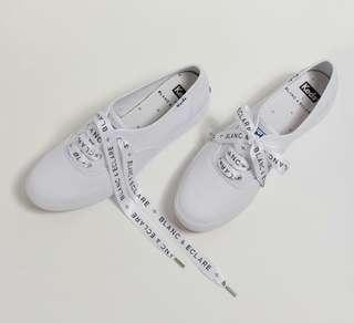 Blanc & Eclare Jessica Autographed Keds Shoes